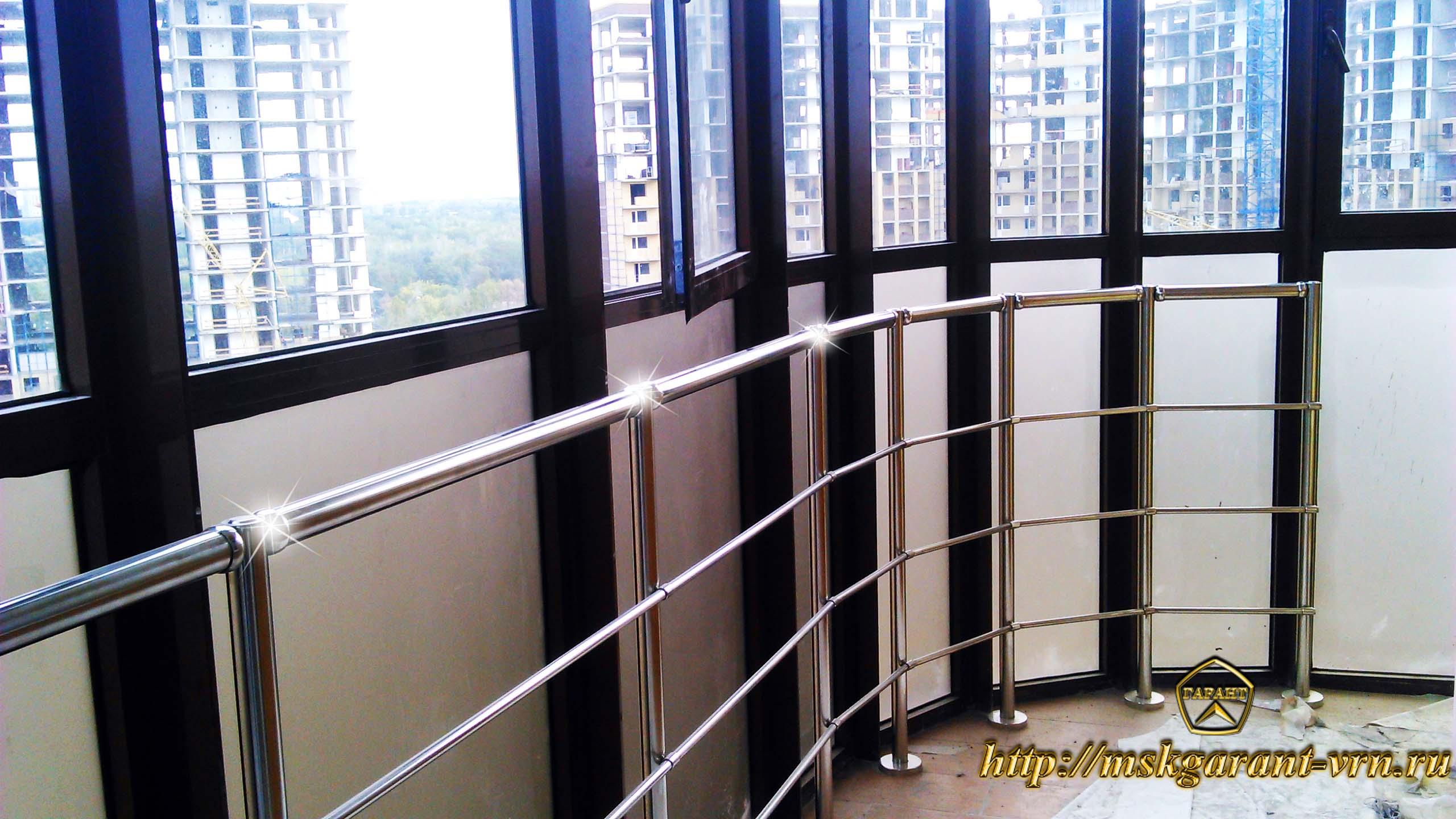 Ограждение балконов, лоджий, террас от ооо мск гарант (ворон.